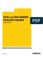 3512C and 3516C Marine Auxiliary Engines-Engine Safety