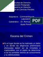 Escena del crimen y la ITC.ppt