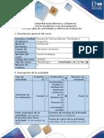 Guia de Actividades Tarea 2 - Analisis de La Respuesta en Frecuencia y Diseño de Controladores