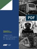 CNT Pesquisa Metroferroviária 2016