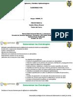 Vigilancia y Variables Epidemiologicas