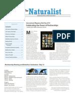 May-June 2010 Naturalist Newsletter Houston Audubon Society