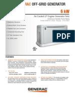 6kW Off Grid Spec Sheet 061610