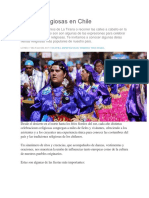 Fiestas Religiosas en Chile