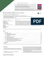 Tang Et Al. - 2015 - Recent Durability Studies on Concrete Structure
