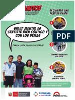 Afiche Salud Mental Promocion Salud
