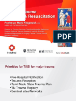 Prof Dr Mark Fitzgerald	Integrated in-hospital trauma care – building blocks that save lives