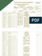 Plan de Refuerzo Academico Biologia Quimestral