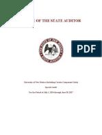 UNM Special Audit Report (FINAL 11-10-17)