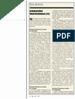 Atribuições Profissionais BarretoPaulo 2009