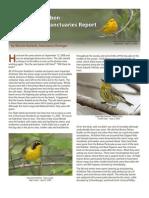2009 Coastal Sanctuaries Report Houston Audubon Society