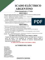 conferencia EL MERCADO ELÉCTRICO ARGENTINO