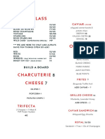 Air's Champagne Parlor New Menu