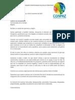 carta Comité de escogencia