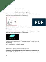 producto punto y ecuación del elipsoide