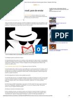 Como Tirar Vírus Do E-mail; Pare de Enviar Spam _ Dicas e Tutoriais _ TechTudo