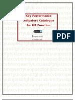 KPI Catalogue