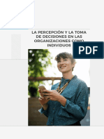 Manual La Percepción y La Toma de Decisiones