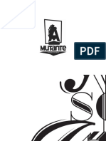 Mutante Type Book