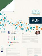 Anna Lindh Foundation.mediterranean.2013 Brochure En