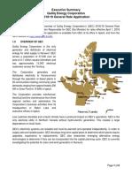 2018-2019 QEC General Rate Application, Executive Summary