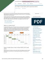 Gantt Chart Tutorial