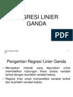 Regresi Linear Ganda