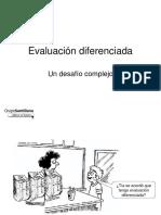 Evaluación Diferenciada Noviembre 2008
