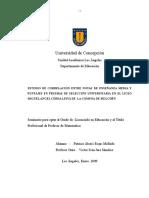 Tesis Estudio Correlacion Notas vs PSU