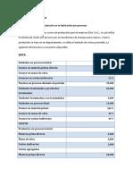 Caso Practico Los Sistemas de Información de Costos y Su Relación Con Las Normas Internacionales de La Contabilidad1