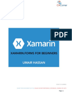 Xamarin Forms for Beginners