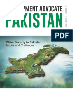 Water Security in Pakistan