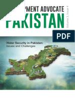 Water Security in Pakistan