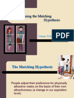 Re-Examining the Matching Hypothesis