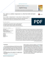 CO2 Capture at Ambient Temperature in a Fixed Bed With CaO Based Sorbents 2015 Applied Energy