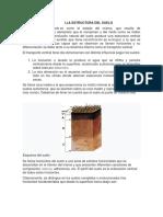 Mecánica de suelos, estructuras del suelo