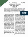 MARR_behavior Analysis and Creativity