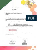 Surat Peminjaman Manekin