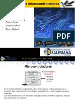 Evolucion de Microcontroladores