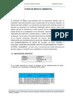 Estudio de Impacto Ambiental San Andres