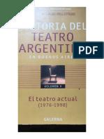 Texto Teórico para Una Pasión Sudamericana de Monti