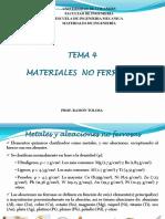 MATERIALES NO FERROSOS Tema_4