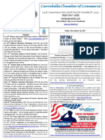 Carrabelle Chamber of Commerce E-Newsletter for November 10th