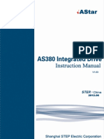 AS380 Integrated Drive Instruction Manual V1.03(1)