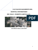 Bases Para La Construccion Del Plan de Salvamento Del HUV