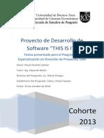 Proyecto Sw (Gestion de proyecto - software nuevo)