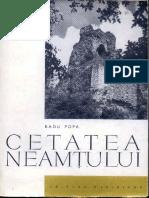 Cetatea Neamtului - R. Popa