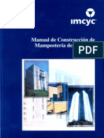 Manual de Construccion de Mamposteria de Concreto
