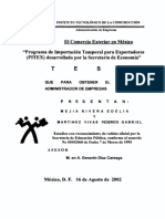 Comercio Exterior PITEX