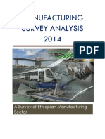 A Survey of Ethiopian Manufacturing Sector